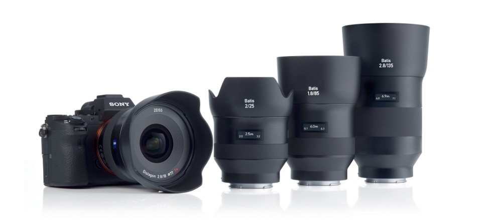 Hot Deals: Up to $170 Off on Zeiss Batis & Loxia Lenses