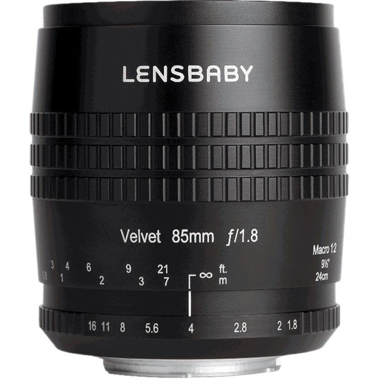 Lensbaby Velvet 85mm f1.8 Lens