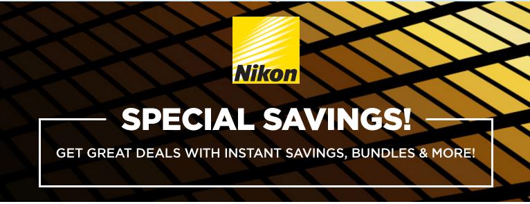 Nikon lenses deal
