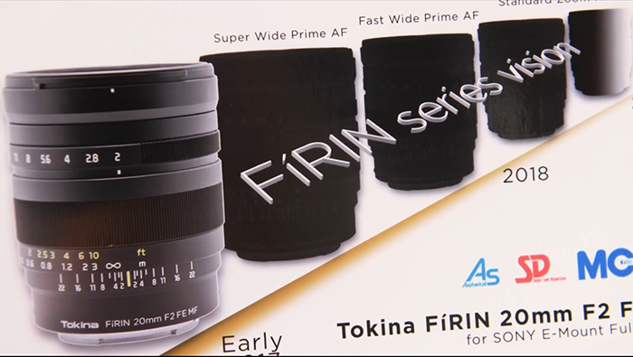 Tokina FE lenses roadmap