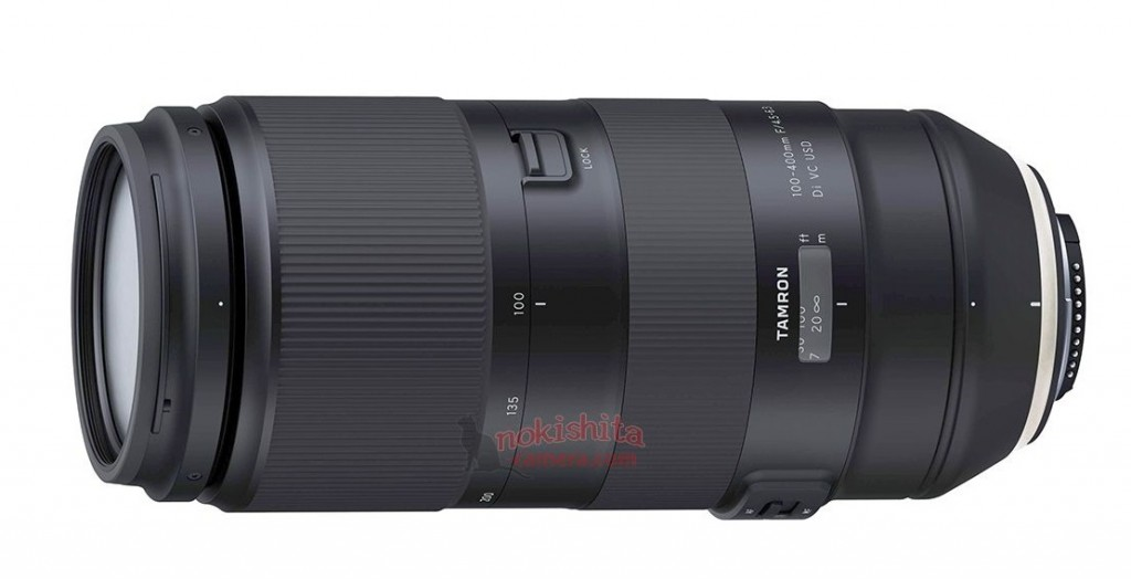 tamron 100 400mm f 4 5 6 3 di vc usd lens to be announced soon lens rumors. Black Bedroom Furniture Sets. Home Design Ideas