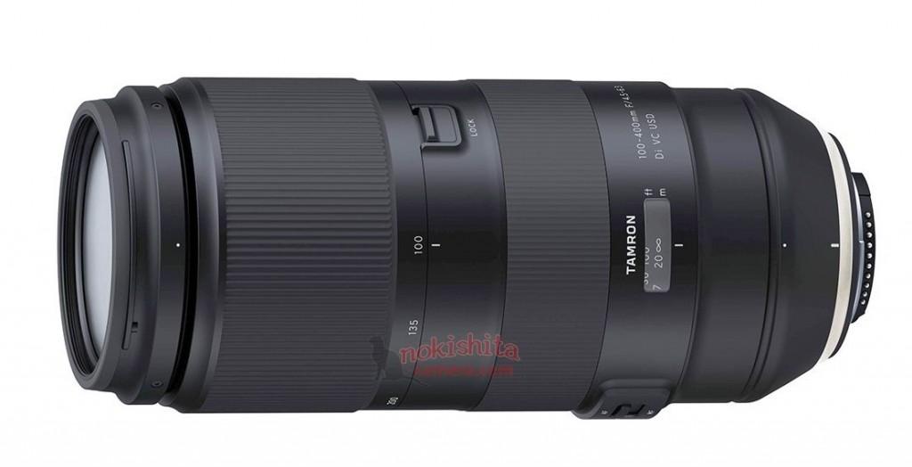 Tamron 100-400mm lens