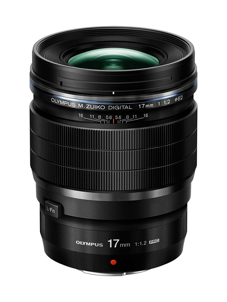 Olympus M Z 17mm F1.2 Pro lens