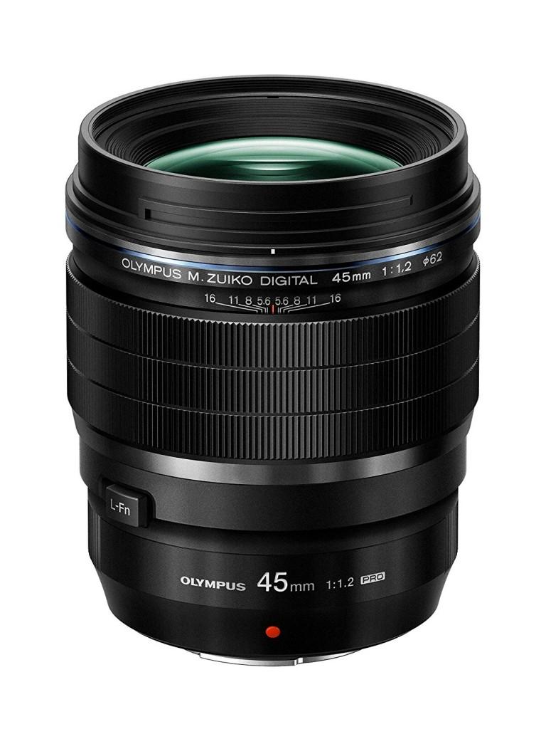 Olympus M Z 45mm F1.2 Pro lens