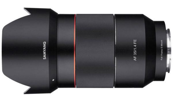 Samyang-35mm f1.4 FE af lens