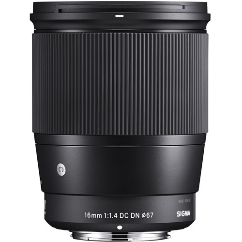 Sigma 16mm F1.4 DC DN C lens images