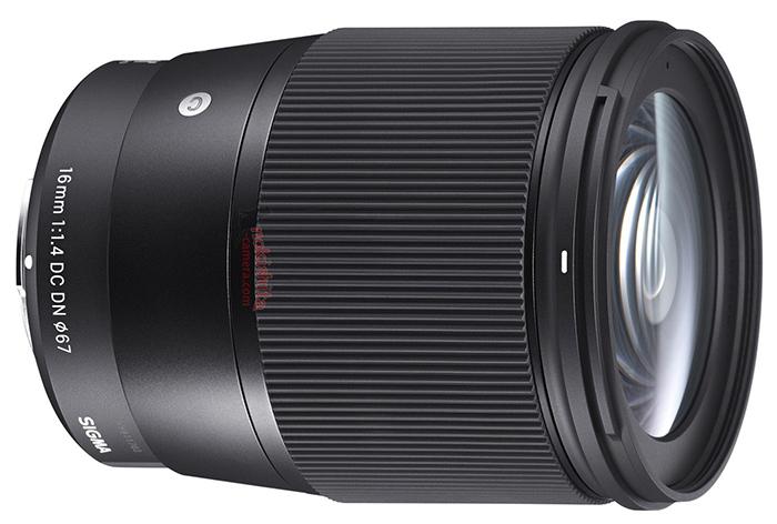 Sigma 16mm F1.4 lens images2