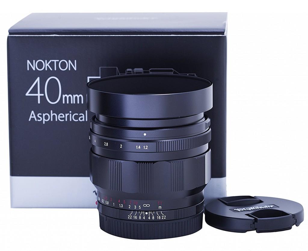 voigtlander 40mm F1.2 lens