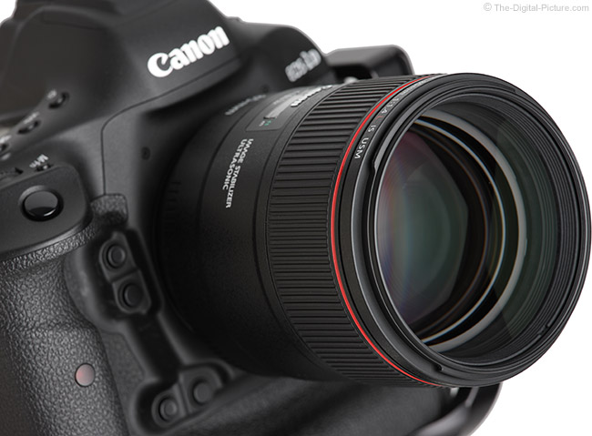 Canon-EF-85mm-f-1.4L-IS-Lens-Angle-Right