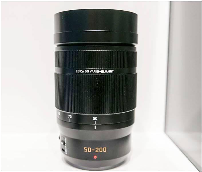 Leica DG 50-200mm lens