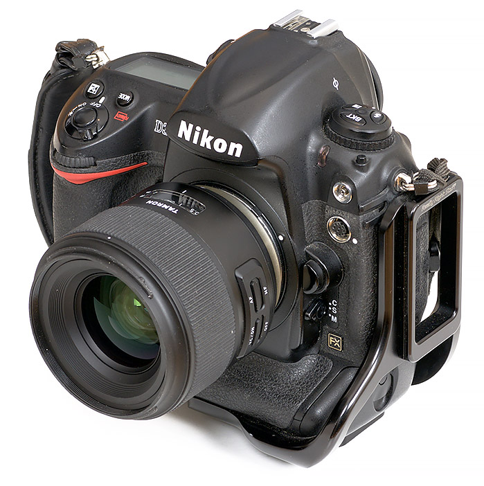 Nikon D3x with tamron sp 35mm lens