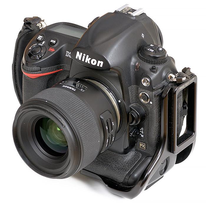 Nikon D3x with tamron sp 35mm lens