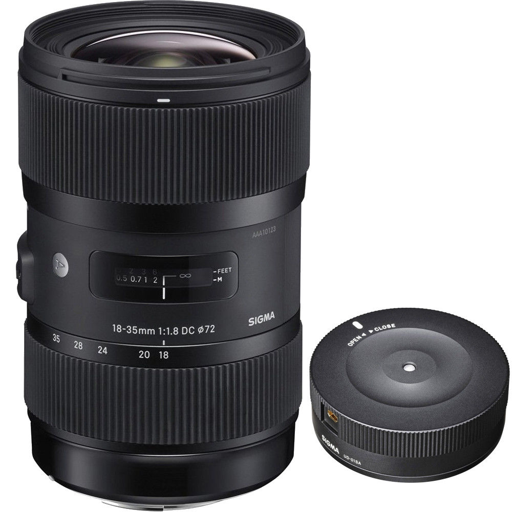 Sigma 18-35mm lens deal