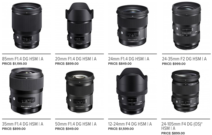 "Sigma\'s First FE Lens to be ""ART"" Series 