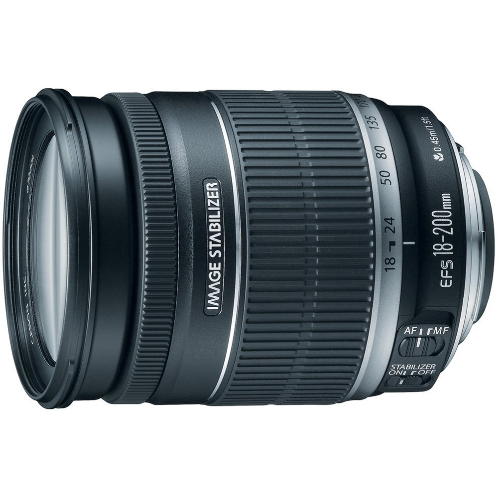 Canon EF-S 18-200mm IS lens
