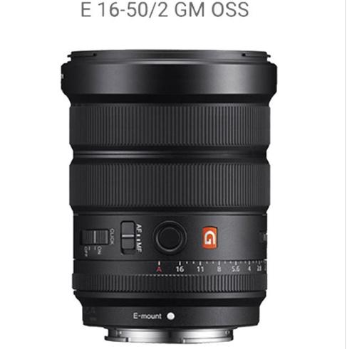 Sony E 16-50nn F2 GM OSS lens