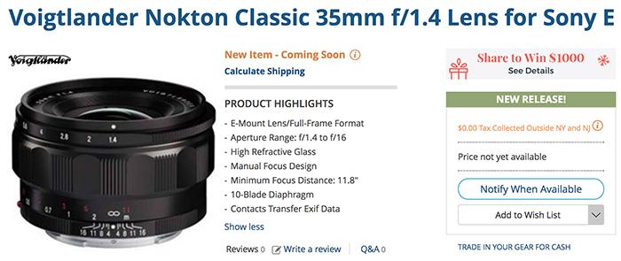 Nokton35mm