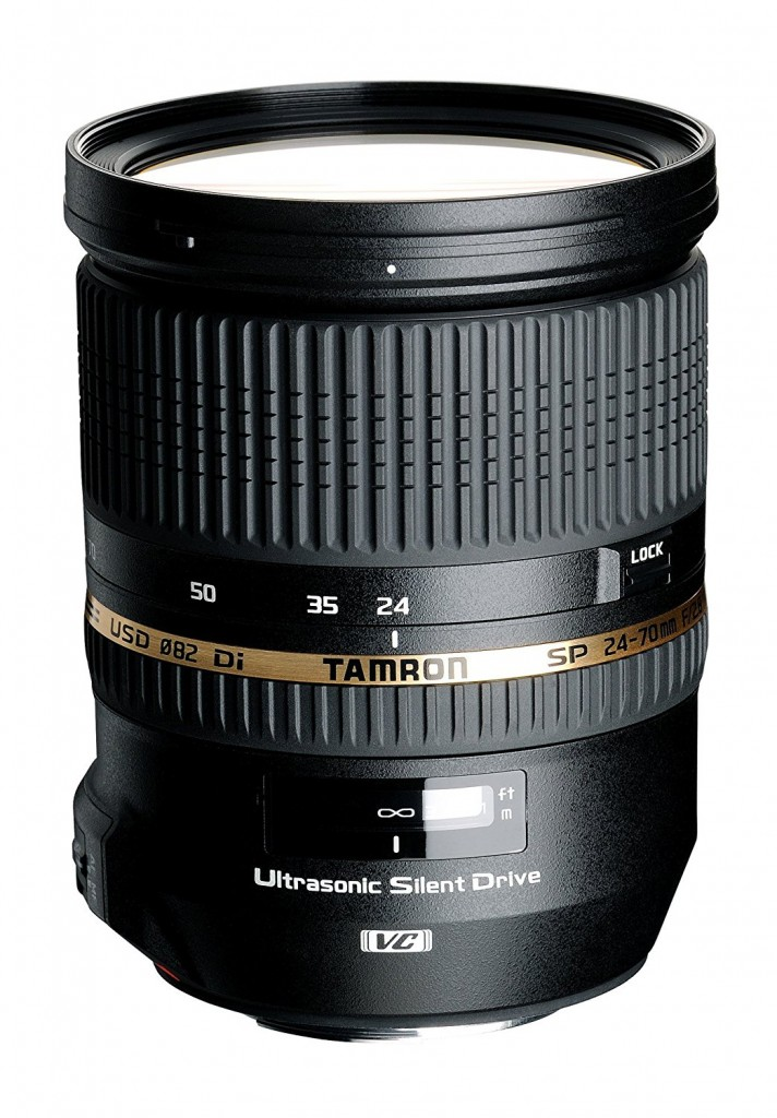 Tamron sp 24-70mm F2.8 USD lens