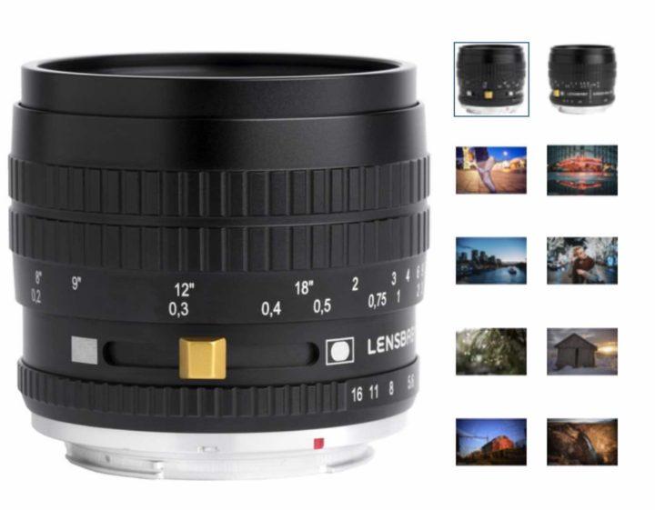 Lensbaby Burnside 35mm F2.8 lens