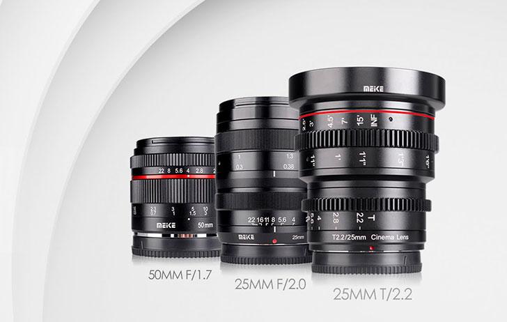 New meike lenses