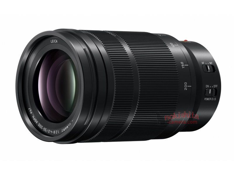 Panasonic LEICA DG VARIO-ELMARIT 50-200mm F2.8-4.0 ASPH lens
