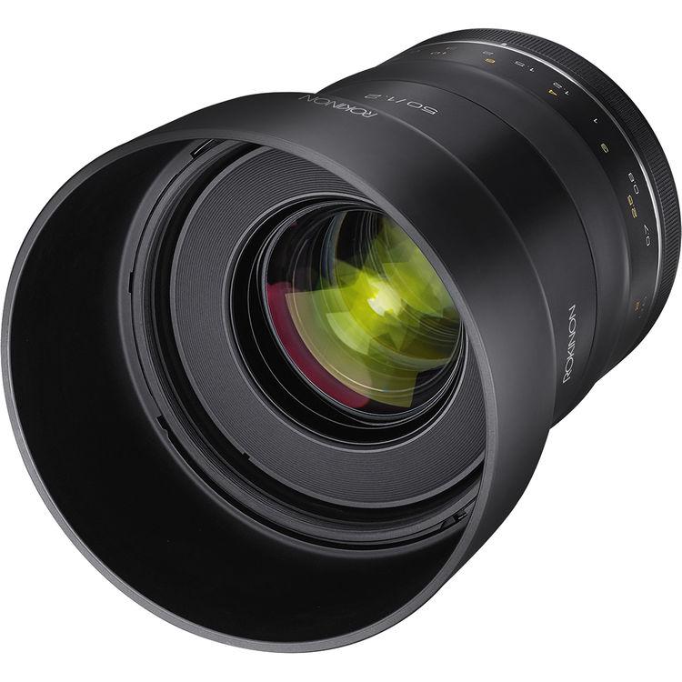 Rokinon XP 50mm f1.2 lens for Canon