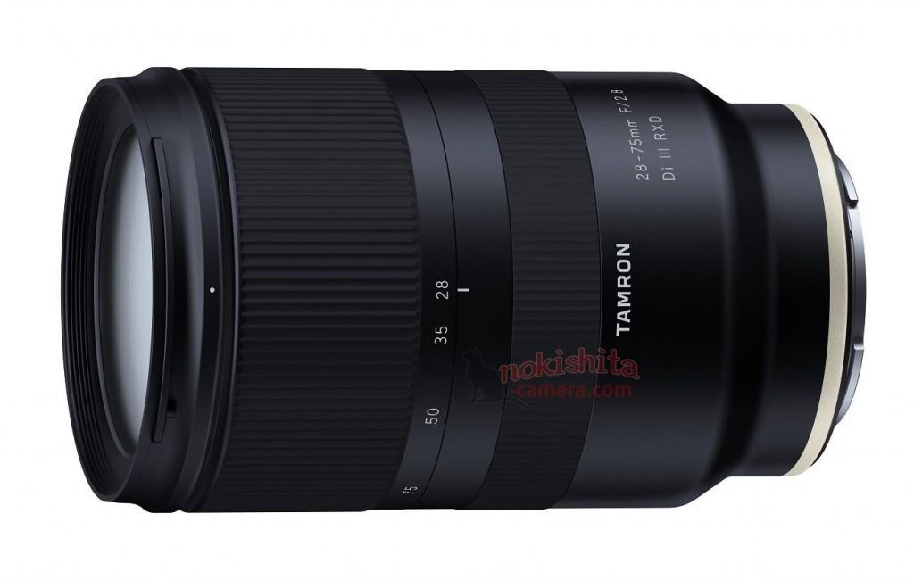 Tamron 28-75mmF2.8 lens