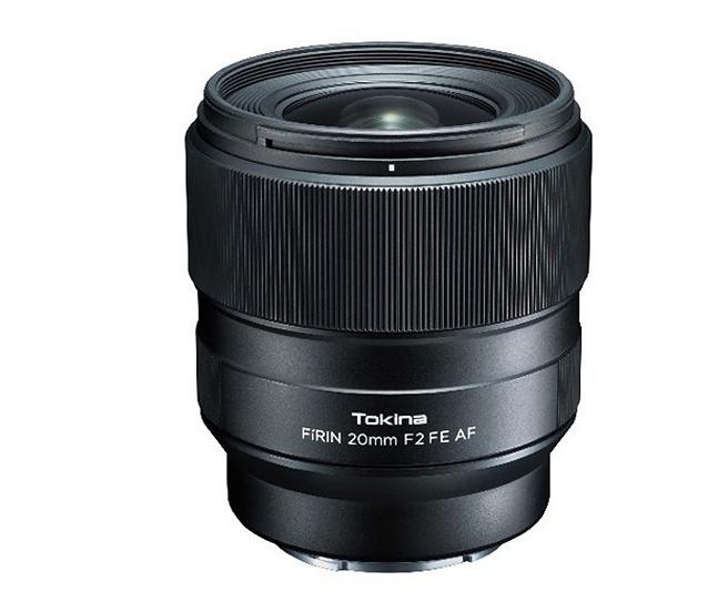 Tokina Firin 20mm F2 AF FE lens