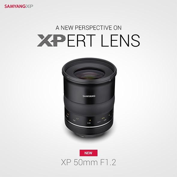 samyang xp 50mm F1.2 lens