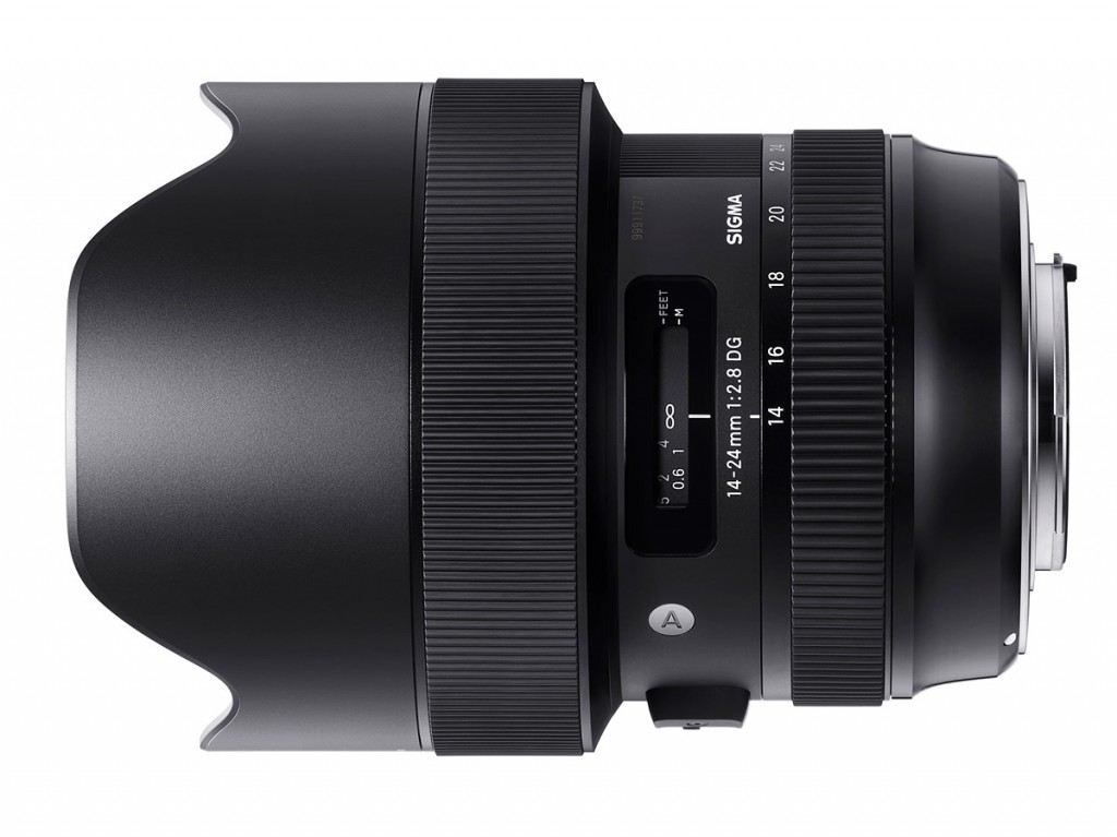 sigma 14-24mm F2.8 DG art lens