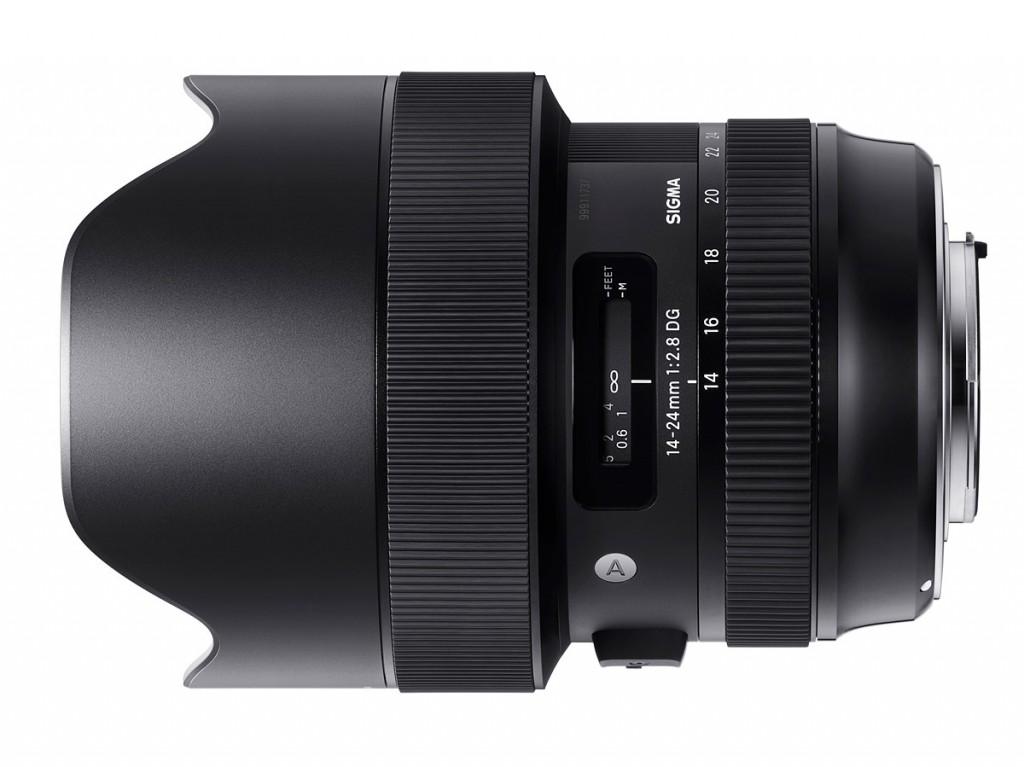 sigma 14-24mm F2.8 DG art lens