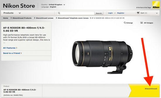 Nikon-AF-S-NIKKOR-80-400mm-f4.5-5.6G-ED-VR-lens-discontinued