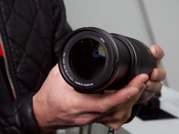 Panasonic Leica 50-200mm F2.8-4.0 lens