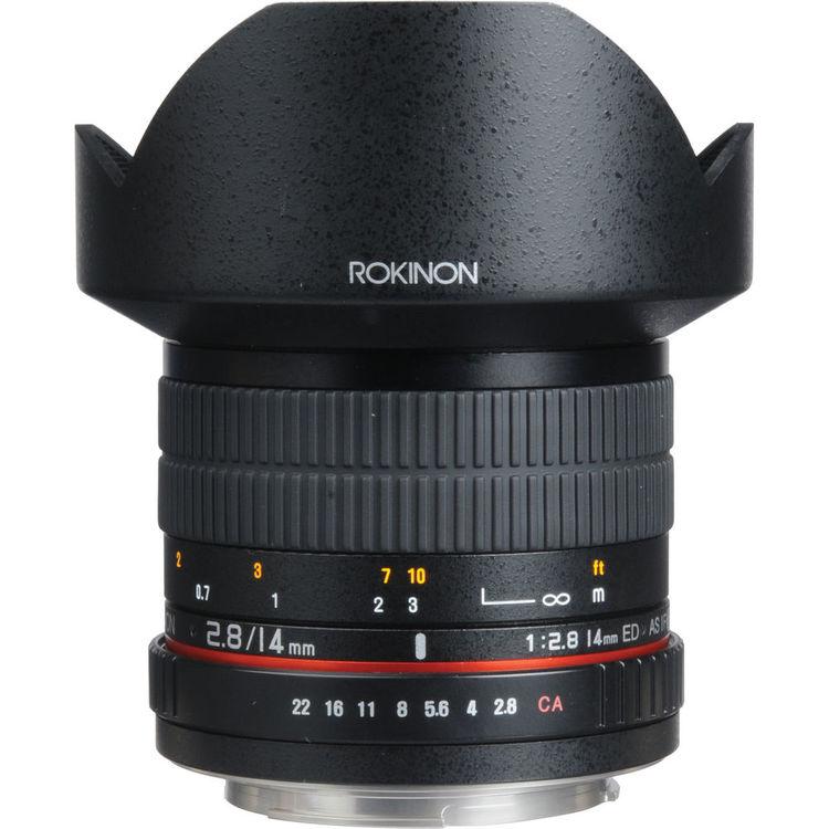 Rokinon 14mm F2.8 lens