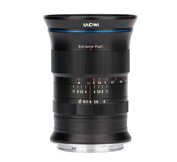 Laowa 17mm F4.0 GFX lens