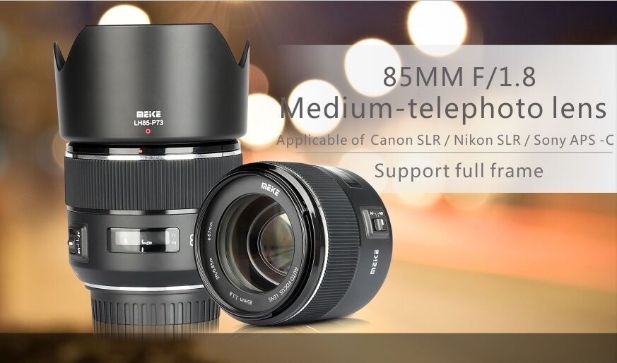 Meike 85mm F1.8 lens