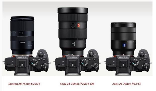Tamron 28-75mm F2.8 FE lens comparison