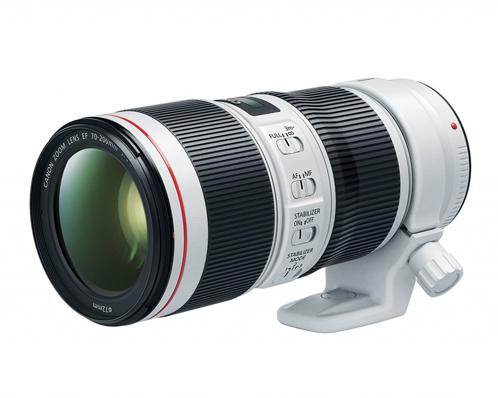 Canon EF 70-200mm f 4L IS II USM Lens