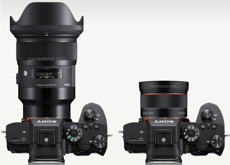 Sigma 24mm F1.4 VS Rokinon 24mm F2.8 FE lens