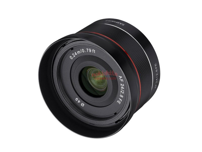 samyang 24mm F2.8 AF lens images
