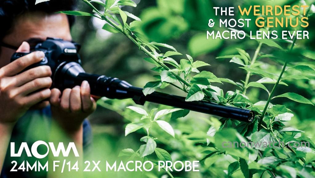 Laowa 24mm F14 Macro lens