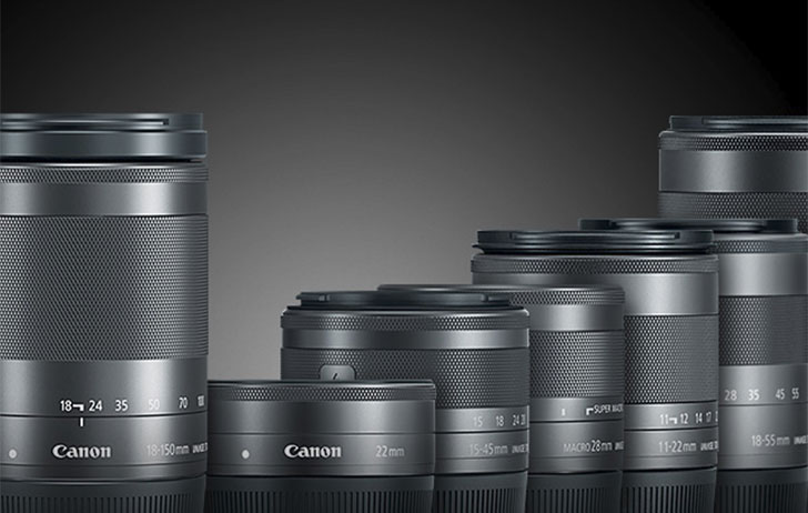Canon EF-M lenses