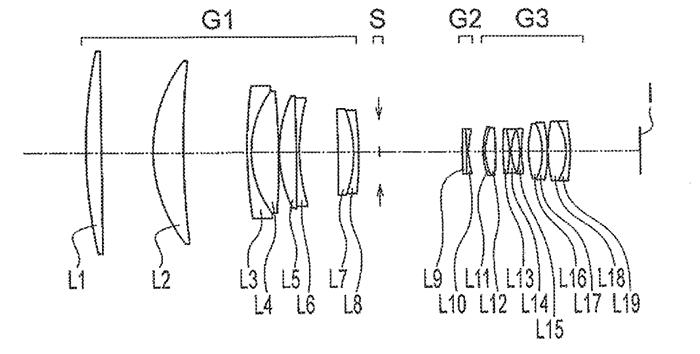 Olympus 400mm F4 patent