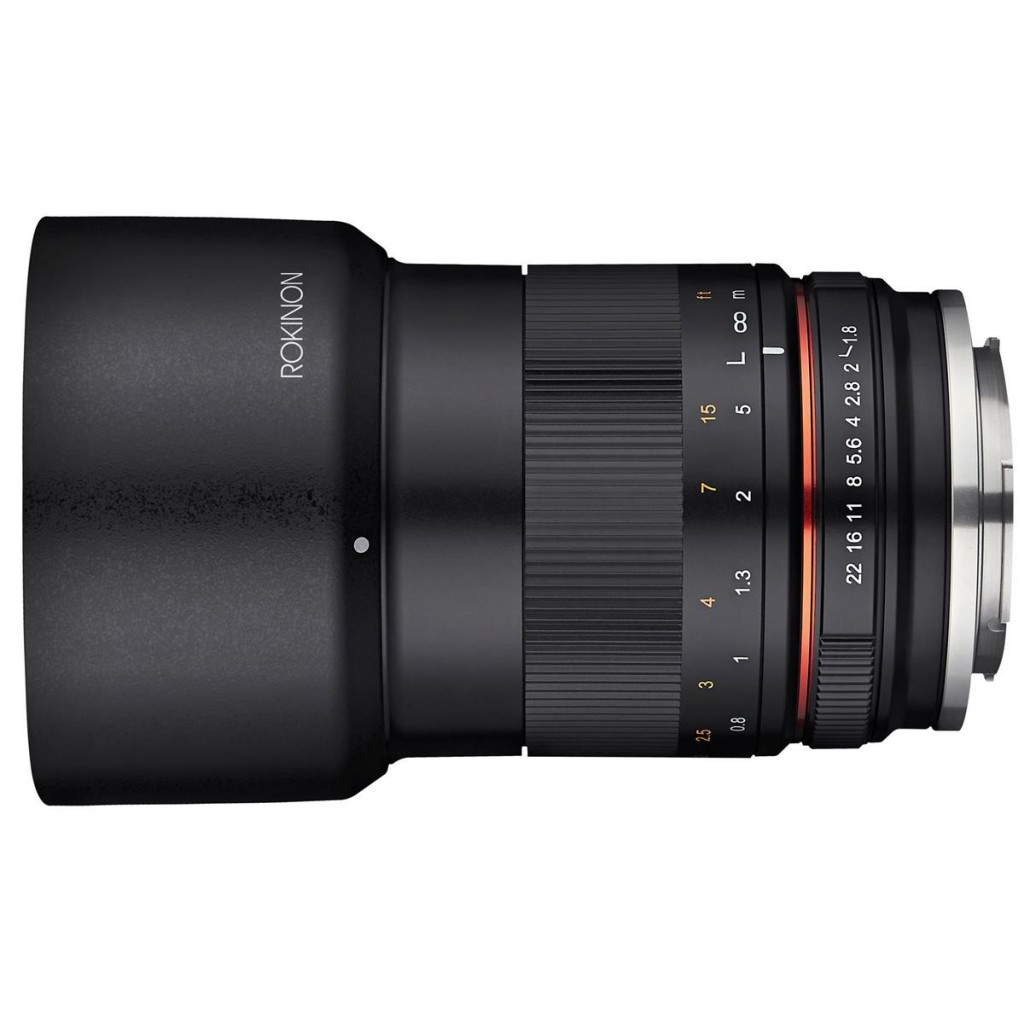 Rokinon 85mm MF f 1.8 Lens