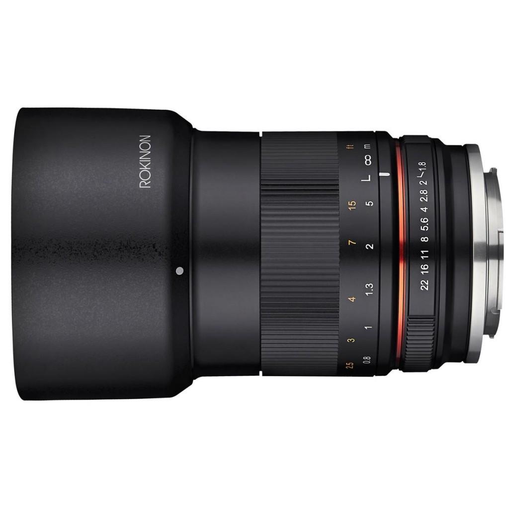 Rokinon 85mm MF f 1.8 Lens