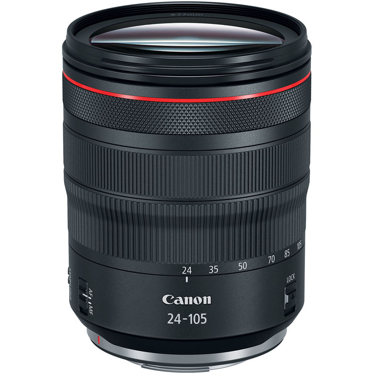 Canon RF 24-105mm f 4L IS USM Lens