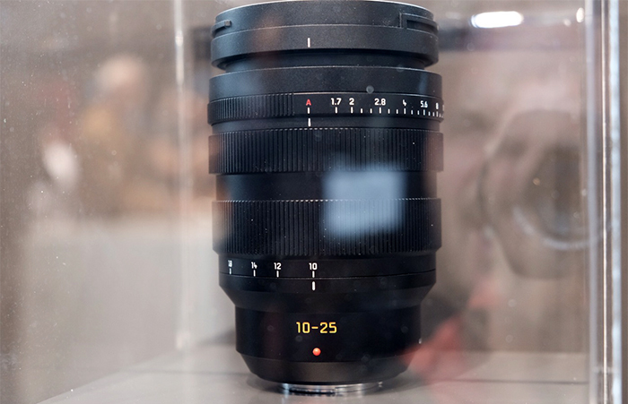 Panasonic 10-25mm F1.7 MFT lens
