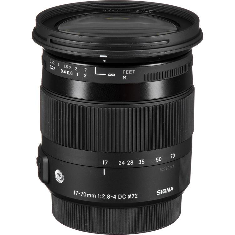 Sigma 17-70mm f 2.8-4 DC Macro OS HSM Lens