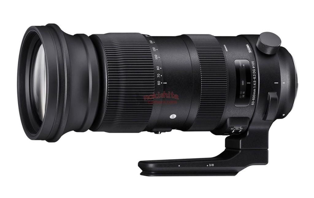 Sigma 60-600mm F4.5-6.3 DG Sport