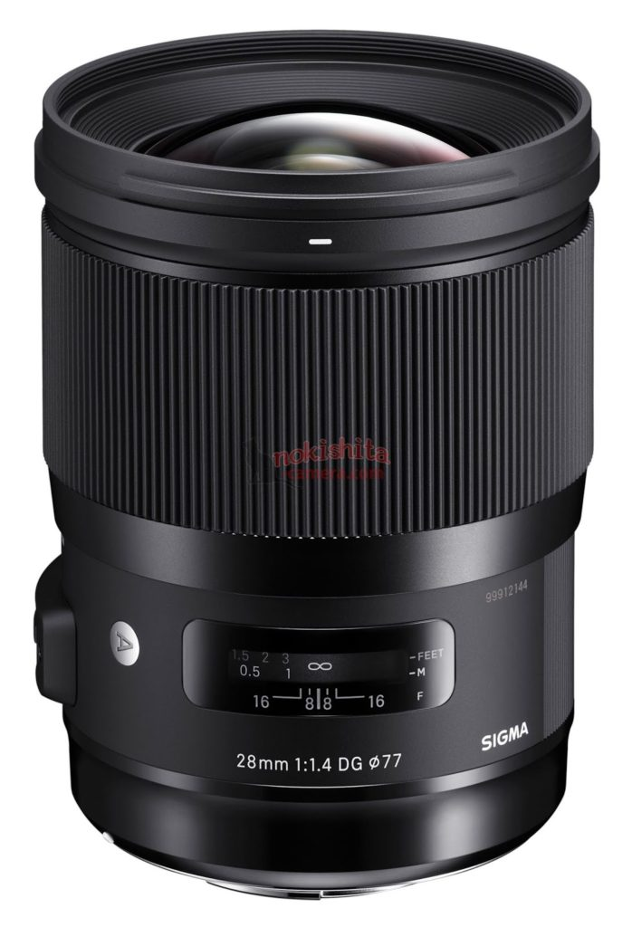 sigma 28mm F1.4 DG art